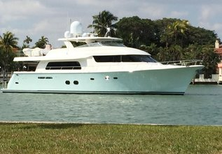 Integrity Charter Yacht at Palm Beach Boat Show 2019