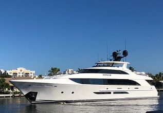 Pepper XIII Charter Yacht at Miami Yacht Show 2020