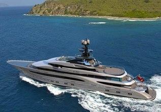 Kismet Charter Yacht at Monaco Yacht Show 2018