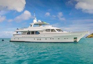 Pura Vida Charter Yacht at Yachts Miami Beach 2017