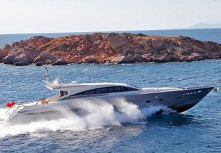 Sun Anemos Charter Yacht at Mediterranean Yacht Show 2018
