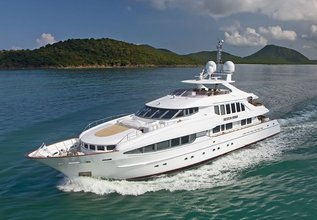 The Lady K Charter Yacht at Antigua Charter Show 2015