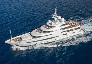 Naia Charter Yacht at MYBA Charter Show 2014