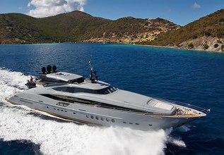 Andiamo Charter Yacht at Miami Yacht Show 2018