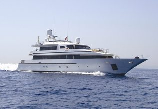 Grand Mariana II Charter Yacht at East Med Yacht Show 2014