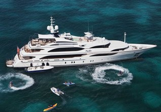 Jaguar Charter Yacht at The Superyacht Show 2018