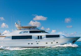 Nauti N' Nice Charter Yacht at Miami Yacht Show 2018