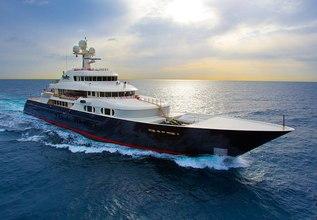 Cocoa Bean Charter Yacht at Monaco Grand Prix Yacht Charter