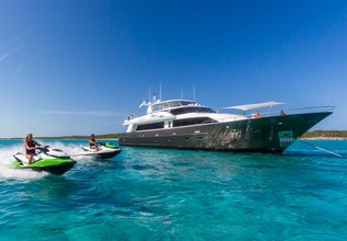 Unbridled Charter Yacht at Fort Lauderdale Boat Show 2015