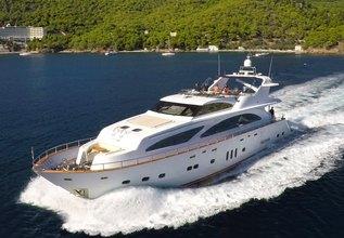 Nitta V Charter Yacht at Mediterranean Yacht Show 2016