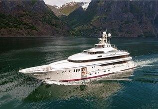 Lady Kathryn V Charter Yacht at Monaco Yacht Show 2018