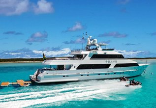 Sea Axis Charter Yacht at Fort Lauderdale Boat Show 2015