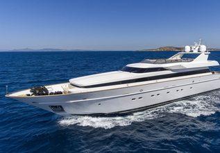 Alexia AV Charter Yacht at Mediterranean Yacht Show 2017
