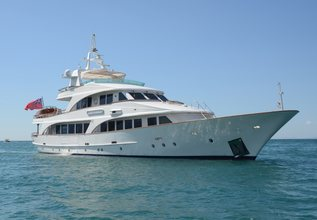 Camellia  Charter Yacht at Mediterranean Yacht Show 2015