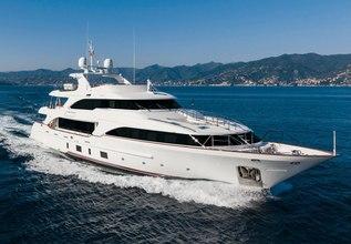Dynar Charter Yacht at MYBA Charter Show 2014