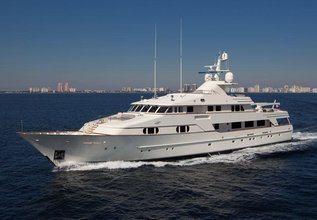 BG Charter Yacht at Palm Beach Boat Show 2016