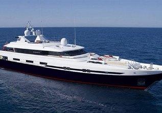 Turquoise Charter Yacht at Monaco Grand Prix 2016