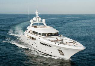 Nassima Charter Yacht at MYBA Charter Show 2014