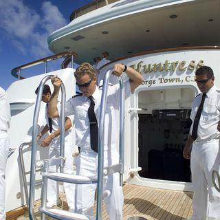 Crew on Swim Platform