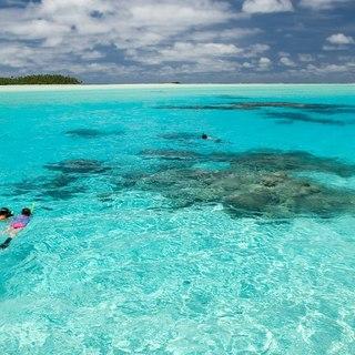 Clean blue sea