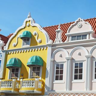 Beautiful monumental dutch architecture