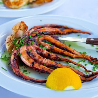 A cuisine influenced by the colourful and vibrant sea