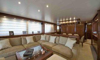 Sky Khan yacht charter Sanlorenzo Motor Yacht