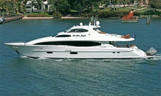 Money For Nothing yacht charter Lazzara Motor Yacht