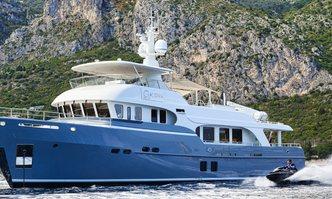 Galena yacht charter Moonen Motor Yacht