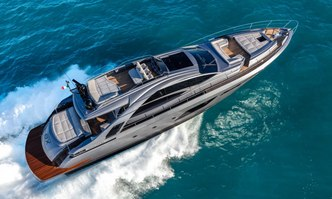 Beyond yacht charter Pershing Motor Yacht