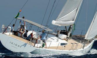 Ikigai yacht charter JFA Chantier Naval Sail Yacht
