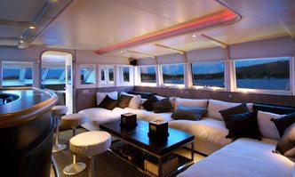 Chato yacht charter Baglietto Motor Yacht