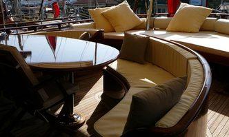 Zephyria II yacht charter Etemoglu Boatyard Motor/Sailer Yacht
