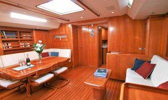 Kallima yacht charter Nautor's Swan Sail Yacht