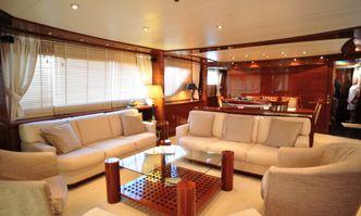 Thalassa yacht charter Sanlorenzo Motor Yacht
