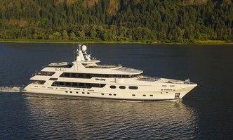 Silver Lining yacht charter Christensen Motor Yacht