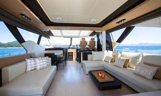 Toffee Crisp yacht charter Azimut Motor Yacht