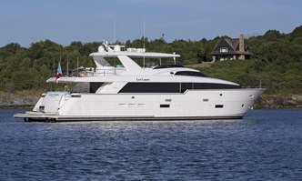 Lady Carmen yacht charter Hatteras Motor Yacht