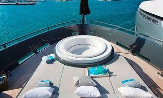 Tortoise yacht charter Arcadia Motor Yacht