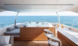 Namaste yacht charter Sanlorenzo Motor Yacht