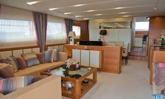 Amon yacht charter Aicon Yachts Motor Yacht