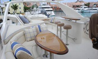 Chip yacht charter Lazzara Motor Yacht