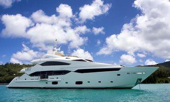Lusia M yacht charter Sunseeker Motor Yacht