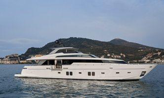 Lady White yacht charter Sanlorenzo Motor Yacht