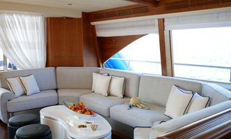 Lady Amanda yacht charter Couach Motor Yacht