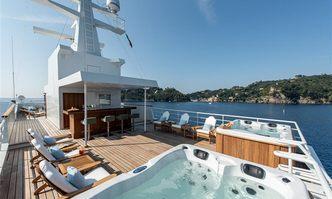 Bleu De Nimes yacht charter Clelands Shipbuilding Co Motor Yacht
