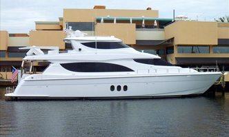 Island Cowboy yacht charter Hatteras Motor Yacht