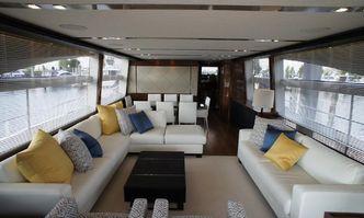 Nina yacht charter Princess Motor Yacht