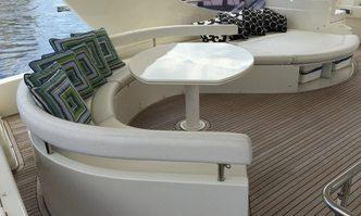 Karma yacht charter Ferretti Yachts Motor Yacht
