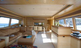 Inspiration B yacht charter Custom Line Motor Yacht